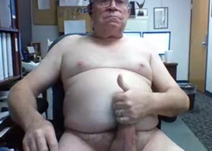 really sexy with the addition of horny grandpa cum on cam