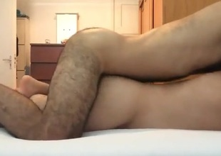 Hairy Ass Bareback