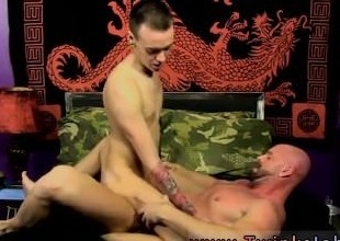 Joyful twink lovemaking queasy armpits together with pubes Chris gets a catch jizz porked out for