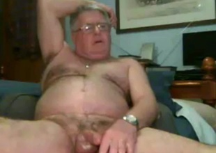 sexy grandpa stroke and cum beyond everything cam