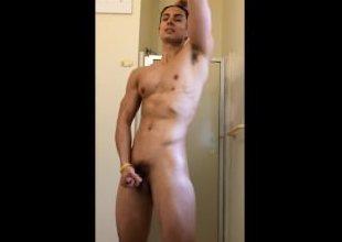 First Shower and Cum