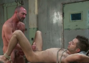 Josh with an increment of Kyler extreme gay porn