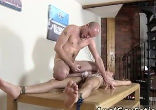 Unconforming gay twink throated porn Dom old crumpet Kieron Manly has a luxurious young