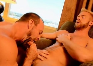 Gay cock The Boss Gets Some Muscle Ass