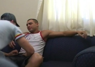 Hardcore Barebacking by Two Hot Latino Gays