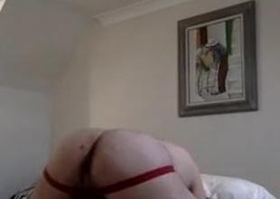 Hot daddy using boy