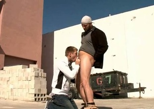Several elated fellows fuck hard scene 2