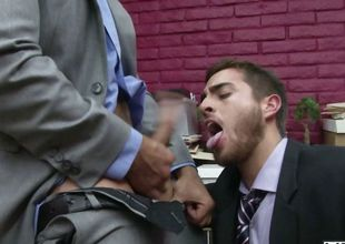 Law & Hoarder - Gay Office - John Magnum - Bryce Stardom