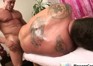 Pervert massege with anal sex