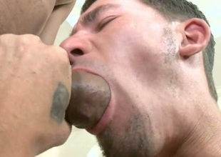 Hot massive black cock sucked