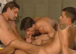 Cute Gay Cubs Threesome