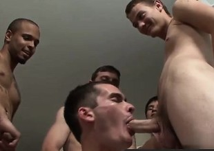 Happy-go-lucky orgy Wild, Wilder... Bukkake with Cody Ryder!