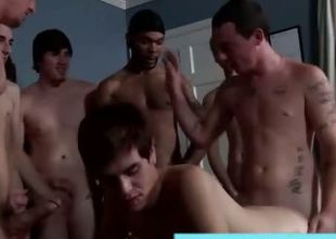 Watch amateur bareback loving twink get bukkake