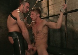 Spencer Philip in very extreme cheerful enslavement