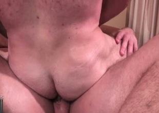 Sexy careless bareback fucking & cumshot